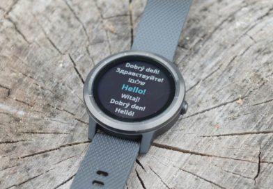 Garmin Vivoactive 3 – prezentacja zegarka