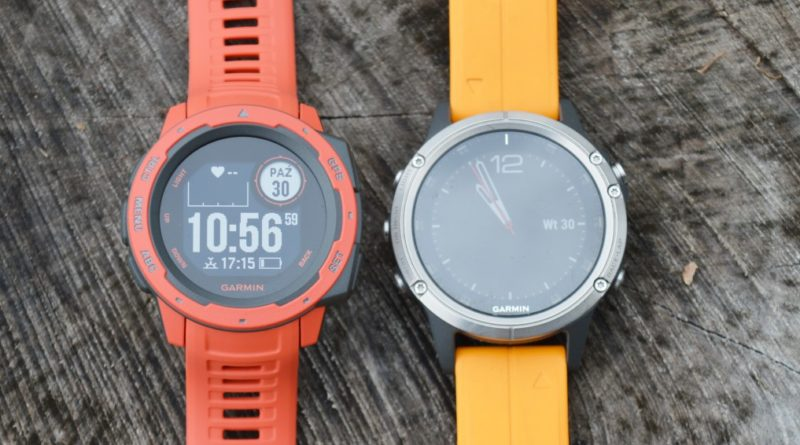 Garmin Instinct vs Garmin Fenix 5