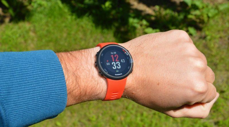 Garmin Forerunner 45 – prezentacja zegarka