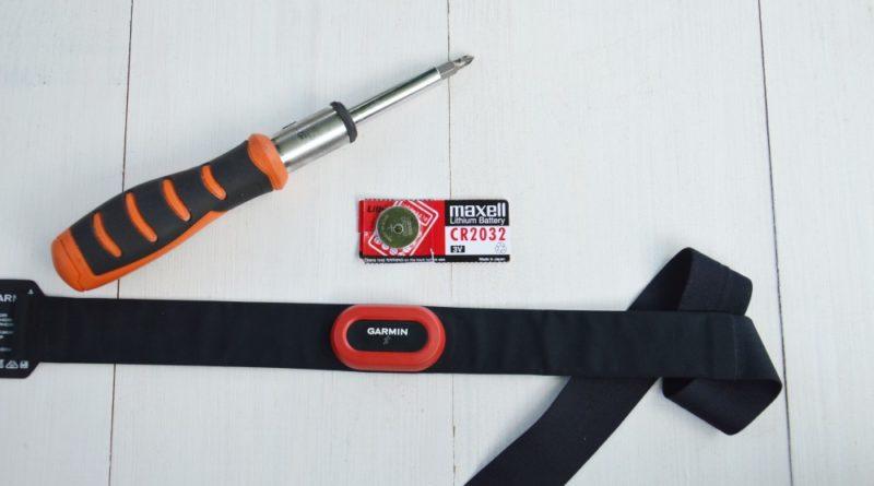 Wymiana baterii w czujniku Garmin HRM Run