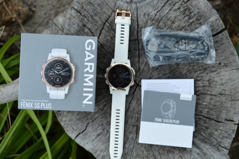 Garmin Fenix 5S Plus Sapphire