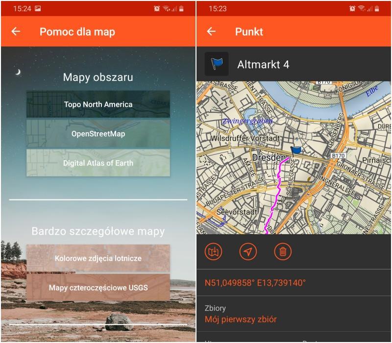 Aplikacja Garmin Explore